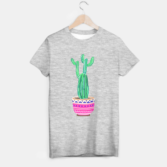 Thumbnail image of Cacti Plant T-shirt regular, Live Heroes