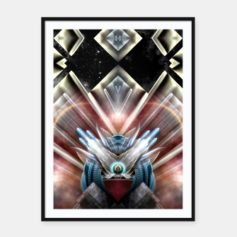 Miniaturka Deco Wings Of Eternity Framed poster, Live Heroes