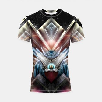 Miniaturka Deco Wings Of Eternity Shortsleeve rashguard, Live Heroes
