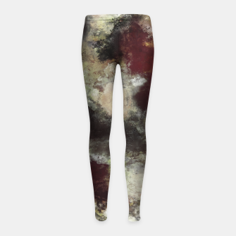 Thumbnail image of The cooling effect Girl's leggings, Live Heroes