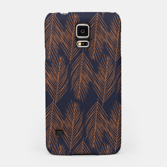 Thumbnail image of Rust Branches on Dark Blue Samsung Case, Live Heroes
