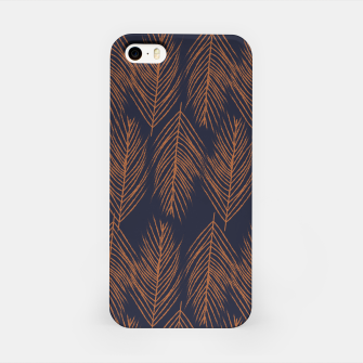 Thumbnail image of Rust Branches on Dark Blue iPhone Case, Live Heroes