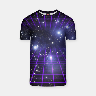 Thumbnail image of Space Grid 2 T-shirt, Live Heroes