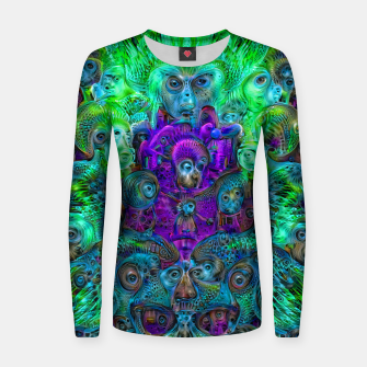Thumbnail image of Katarina's Dreams 8 (psychedelic, trippy) Women sweater, Live Heroes