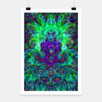 Thumbnail image of Katarina's Dreams 8 (psychedelic, trippy) Poster, Live Heroes