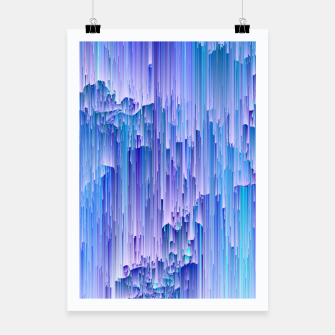 Thumbnail image of Lunar Mist - Abstract Pixel Art Poster, Live Heroes