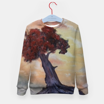 Miniaturka Loneliness Of Nature Kid's sweater, Live Heroes