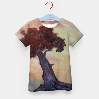 Thumbnail image of Loneliness Of Nature Kid's t-shirt, Live Heroes