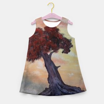 Thumbnail image of Loneliness Of Nature Girl's summer dress, Live Heroes