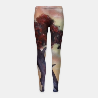 Thumbnail image of Loneliness Of Nature Girl's leggings, Live Heroes