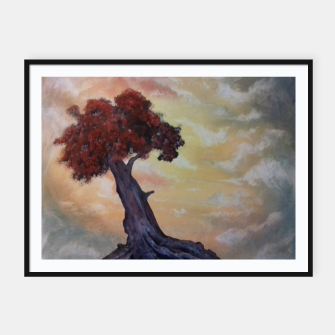 Miniaturka Loneliness Of Nature Framed poster, Live Heroes