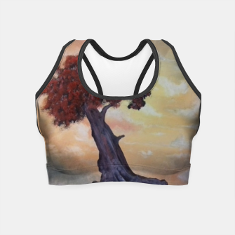 Thumbnail image of Loneliness Of Nature Crop Top, Live Heroes