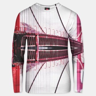 Thumbnail image of Golden Gate bridge, San Francisco Unisex sweater, Live Heroes