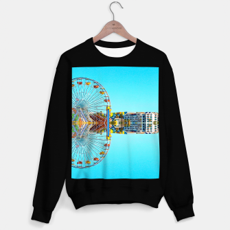 Miniaturka ferris wheel with buildings and blue sky Sweater regular, Live Heroes