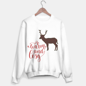 Miniaturka Warm and Cosy - deer silhouette Sweater regular, Live Heroes