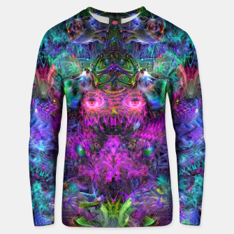 Thumbnail image of Lin's Dreams 7 (freak, trippy, weird, psychedelic, visionary) Unisex sweater, Live Heroes