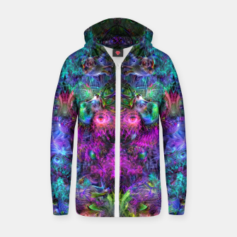 Thumbnail image of Lin's Dreams 7 (freak, trippy, weird, psychedelic, visionary) Zip up hoodie, Live Heroes
