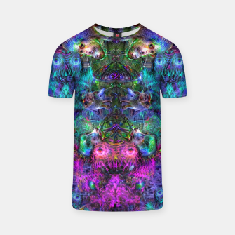 Thumbnail image of Lin's Dreams 7 (freak, trippy, weird, psychedelic, visionary) T-shirt, Live Heroes