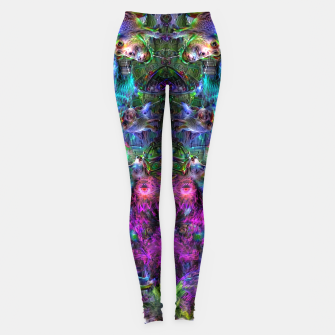 Thumbnail image of Lin's Dreams 7 (freak, trippy, weird, psychedelic, visionary) Leggings, Live Heroes