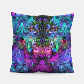 Thumbnail image of Lin's Dreams 7 (freak, trippy, weird, psychedelic, visionary) Pillow, Live Heroes