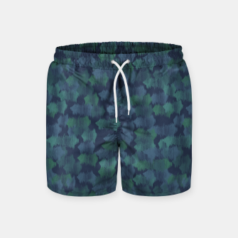 Thumbnail image of Blues and Greens Swim Shorts, Live Heroes