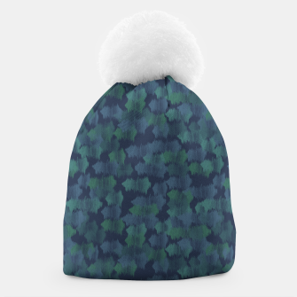 Thumbnail image of Blues and Greens Beanie, Live Heroes