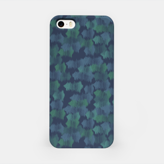 Thumbnail image of Blues and Greens iPhone Case, Live Heroes
