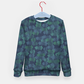 Thumbnail image of Blues and Greens Kid's sweater, Live Heroes
