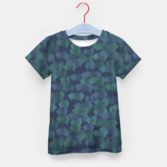 Thumbnail image of Blues and Greens Kid's t-shirt, Live Heroes