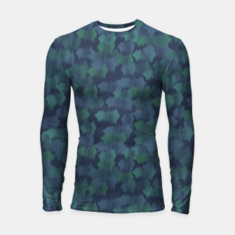 Thumbnail image of Blues and Greens Longsleeve rashguard , Live Heroes