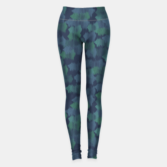 Thumbnail image of Blues and Greens Leggings, Live Heroes