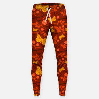 Thumbnail image of Birds And Blooms - Golden Butterfly Sweatpants, Live Heroes