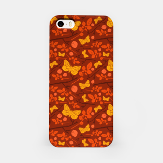 Thumbnail image of Birds And Blooms - Golden Butterfly iPhone Case, Live Heroes