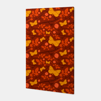 Thumbnail image of Birds And Blooms - Golden Butterfly Canvas, Live Heroes