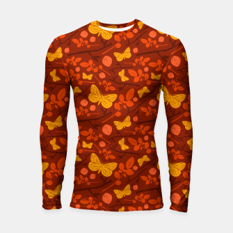 Thumbnail image of Birds And Blooms - Golden Butterfly Longsleeve rashguard , Live Heroes