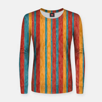 Miniaturka Colorful stripes Women sweater, Live Heroes