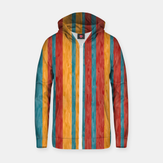 Miniaturka Colorful stripes Zip up hoodie, Live Heroes