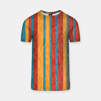 Miniaturka Colorful stripes T-shirt, Live Heroes