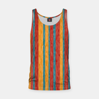Miniaturka Colorful stripes Tank Top, Live Heroes