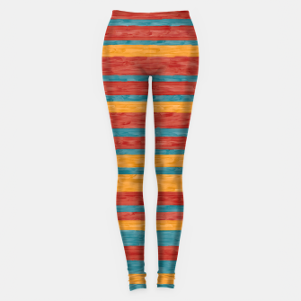 Miniaturka Colorful stripes Leggings, Live Heroes