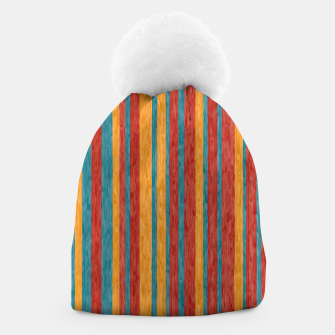 Miniaturka Colorful stripes Beanie, Live Heroes