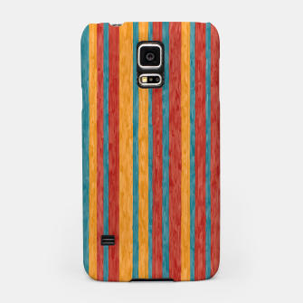 Miniaturka Colorful stripes Samsung Case, Live Heroes