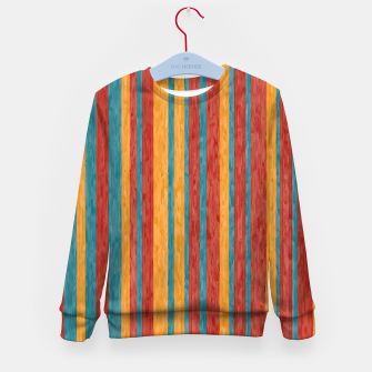 Miniaturka Colorful stripes Kid's sweater, Live Heroes