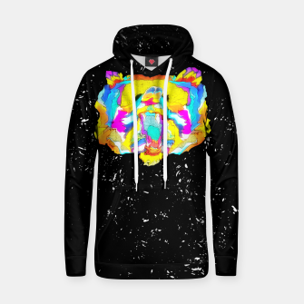 Thumbnail image of PSYCHEDELIC BEAR Hoodie, Live Heroes