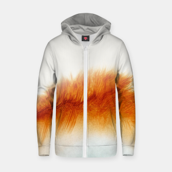 Thumbnail image of Feather Circle Zip up hoodie, Live Heroes