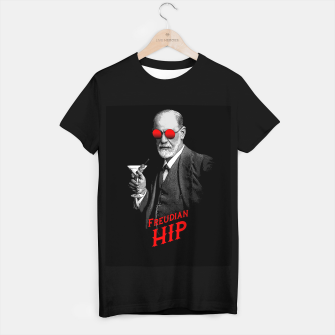 Thumbnail image of Hipster Psychologist Sigmund Freud T-shirt regular, Live Heroes