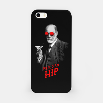 Miniature de image de Hipster Psychologist Sigmund Freud iPhone Case, Live Heroes