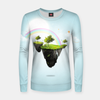 Thumbnail image of Floating island Women sweater, Live Heroes