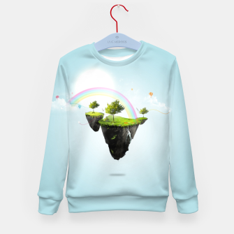 Thumbnail image of Floating island Kid's sweater, Live Heroes