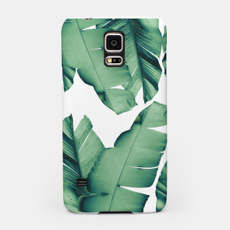 Thumbnail image of Banana Leaves Tropical Vibes #4 #foliage #decor #art Handyhülle für Samsung, Live Heroes